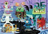 Heye Puzzel - Monsterland