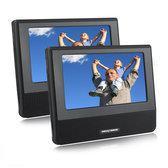 Nextbase SDV 7 Click Lite Duo - Portable DVD-speler met 2 schermen - 7 inch