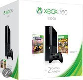 Microsoft Xbox 360 Super Slim 250GB + 1 Controller + Forza Horizon + Borderlands 2