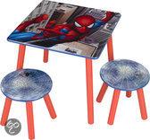 Spider-Man Tafel met krukjes