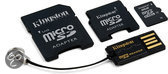 Kingston MEM SD 8GB MICRO SECURE DIGITAL Multi-Kit G2 Card