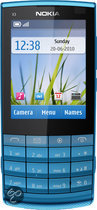 Nokia X3-02 Touch and Type - Petrol Blue