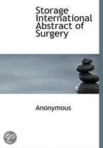 Storage International Abstract of Surgery