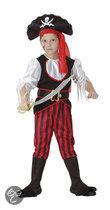 Luxe Piraat Tom - Kostuum - 4-6 jaar