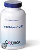 Orthica Lecithine- 1200 - 90 Capsules- Voedingssupplement
