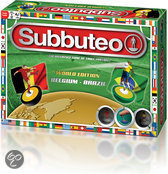 Subbuteo TeamEdition - Tafelvoetbal - Belgie/Brazilie