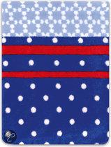Washand Cozz Dots - Blue - Washand (16x21 cm)