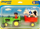 Playmobil Traktor Met Aanhangwagen - 6715