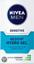 NIVEA MEN Sensitive Hydrogel - 50 ml - Dagcrème