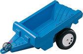 Rolly toys Aanhanger 1-assig blauw