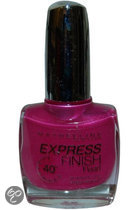 Maybelline Nagellak Express Finish   - 160 Berry Fast