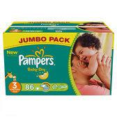 Pampers Baby Dry - Luiers Maat 3 - Jumbo box plus 86st