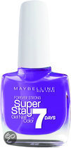Maybelline Super Stay 7days - 290 Purple - Nagellak