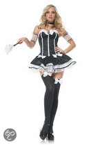 Leg Avenue 'French Maid', Model 83441, Maat L