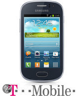 Samsung Galaxy Fame (S6810P) - Blauw - T-Mobile prepaid telefoon