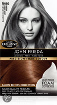John Frieda Precision Foam Colour 6NBG Light Amber Brown - Haarkleuring