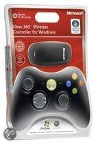 Microsoft Wireless Controller Zwart Xbox 360 + PC