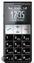 Emporia Essence Plus Big Button Phone with Desktop Charger and Emergency Button