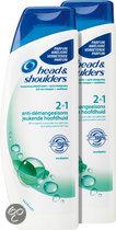 Head&Shoulders 2in1 Jeukende Hoofdhuid - 2x270ml - Shampoo & Conditioner