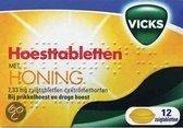 Vicks Honing - Hoesttabletten