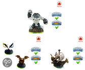 Skylanders Spyro's Adventure Pirate Adventure Pack Wii + PS3 + Xbox360 + 3DS + Wii U + PS4