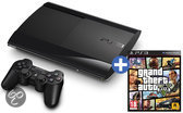 Sony PlayStation 3 500GB Super Slim + 1 Controller + Grand Theft Auto V