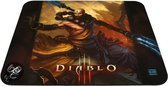 Steelseries Qck Diablo III Muismat - Monk Edition Zwart PC