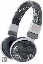 Foto van Qware Camouflage Headphone Zwart