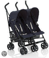 Inglesina - Duo buggy Twin Swift - Donkerblauw