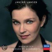Twee nieuwe albums Janine Jansen - Prokofiev Schubert Schönberg