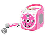 Barbie Draagbare Cd- en karaokespeler