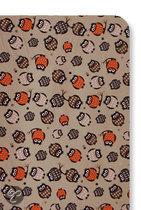 Cottonbaby Uil - Hoeslaken ledikant 120x60 cm - Bruin