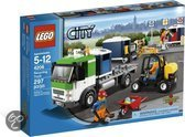 Lego City 4206 Recycling-Truck