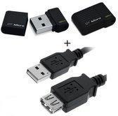 Benza - Kingston MEM Mini/Micro DataTraveler USB-Stick/Geheugenstick Flash Drive 100 G3 32GB 2.0 (Inc. USB verlengkabel)