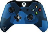 Microsoft Xbox One Wireless Controller - Special Edition Midnight Forces  - Blauw Xbox One