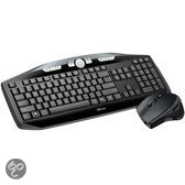 Trust Edge Wireless Deskset - Zwart - QWERTY