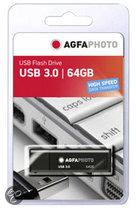 AgfaPhoto USB 3.0 zwart     64GB