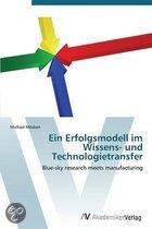 Ein Erfolgsmodell Im Wissens- Und Technologietransfer