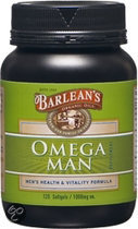 Barleans Omega Man 1000 mg Softgels 120 st