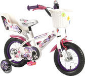 Yipeeh Rose Fancy Girl Fiets - 12 inch