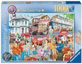 Ravensburger The Coach Trip - Puzzel - 1000 stukjes