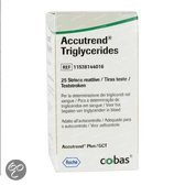 Accutrend Triglyceriden Strips - 25 Stuks