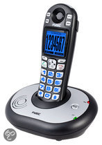 Fysic FX-3900 - Single DECT senioren telefoon - Zwart