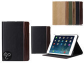 Rock iPad Mini Woody Series Luxe Hoes Cover Smart Case Zwart