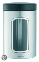 Brabantia Vensterbus 1,4 l - Matt Steel Fingerprint Proof