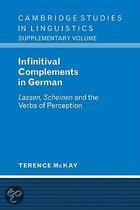 Infinitival Complements In German