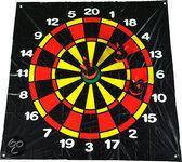 BuitenSpeel Dartveld met drie opblaasbare dartpijlen