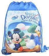 Mickey & Donald tas met trekkoord, shucks