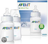 Philips Avent - SCF683/27 Babyfles - 260 Ml / 2 Stuks