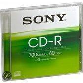 CD-R 48X 700MB JEWEL CASE